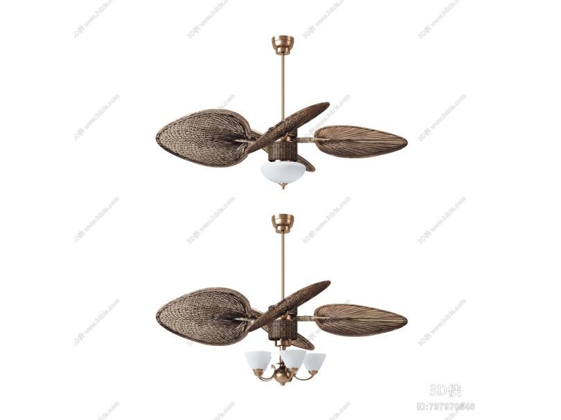 东南亚吊扇灯 电风扇