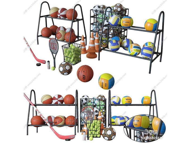 现代体育用品组合 篮球