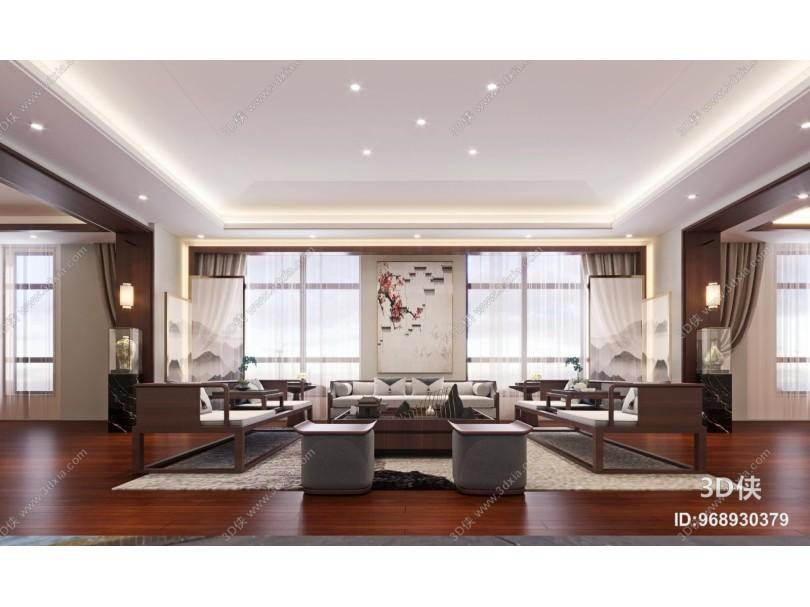 新中式接待会客室
